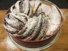 nutellas_kelt_csavart_kalacs_recept-tortaiksola-1 (7) Nutella, Camembert Cheese, Muffin, Dairy, Cookies, Cake, Food, Kitchen, Crack Crackers