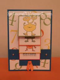 Image result for stampin up make a monster card ideas