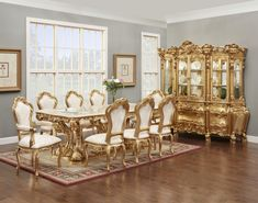 Victorian Dining Room Sets - Best Cheap Modern Furniture Check more at http://1pureedm.com/victorian-dining-room-sets/