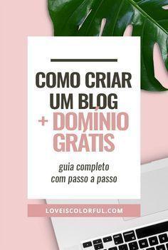 Quer ganhar dinheiro com o blog? Agora é a hora de criar um blog profissional, domínio TOTALMENTE GRATUITO + 50% de desconto na hospedagem. Acesse o post para conferir o passo a passo. #dicasparablogs #dicaparablog #comocriarumblog
