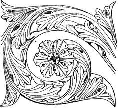 Romanesque Frieze Oriental, Art Template, Templates, Fashion Themes, Border Pattern, Romanesque, Byzantine, Middle Ages, Wood Carving