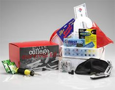 College Survival Kit - fun gift for someone heading off to college.