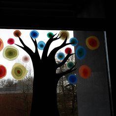 Kandinsky-Bäume #Klassenraumdeko #kunstunterricht #grundschule #grundschullehrerinnenbastelngern