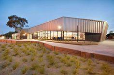 Patterson Lakes Community Centre, Melbourne, Australia Public Architecture, Centre, Community, Melbourne Australia, Mansions, House Styles, Lakes, Outdoor Decor, Home