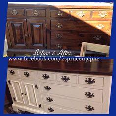 Old dresser,  new life.