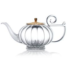 "Hand blown glass tea pot from Mariage Frères - should also be pinned to my ""Covet"" board"