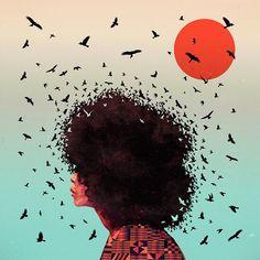 Sosito Maske - Erykah Badu. Artist: Kaikoo