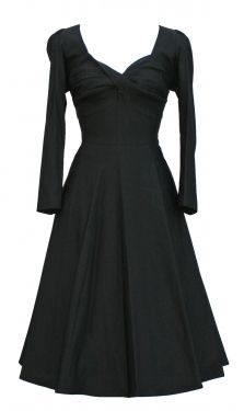ADELANIS SWING DRESS | BLACK