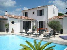 Belle villa avec piscine, extérieur rétais sur l'île de Ré #iledere #location #villaavecpiscine