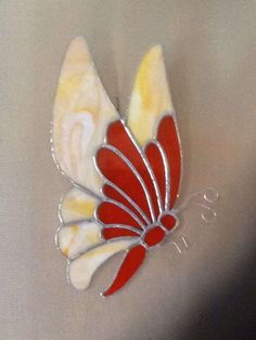 I'm a butterfly collector I guess. This design came off a gum ball machine. by Nancy Marquis