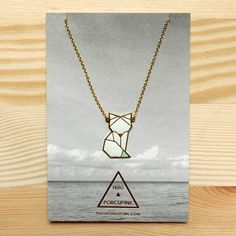 The Arctic fox finally comes in a necklace form now! http://shop.thelittledromstore.com/product/arctic-fox-necklace ©Hug A Porcupine