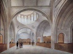 Bank of England - Sir John Soane. I worked on the Soane and Herbert Baker areas of the Bank - http://patrickbaty.co.uk/?p=1395