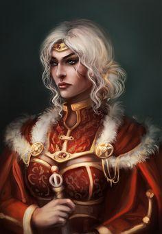 Cirilla the Empress of Nilfgaard by Tissia1229.deviantart.com on @DeviantArt
