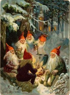 Gnomes by rachael