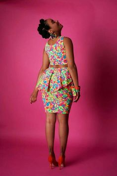 The Garden Party Skirt ~African fashion, Ankara, kitenge, African women dresses African Inspired Fashion, Latest African Fashion Dresses, African Dresses For Women, African Print Dresses, African Print Fashion, Africa Fashion, African Attire, African Wear, African Women