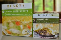Blake's All Natural Meals (Chicken Pot Pie and Shepherd's Pie!) Giveaway 3 Winners/2 meals each! Stop by Moms Own Words blog and enter!