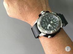 Seiko 5 could become the beast.... #watchband #watchstrap #watchlover #watchlove #womw #wus #wornandwound #seikolovers #men #menfashion #wristwatch #SKZ225