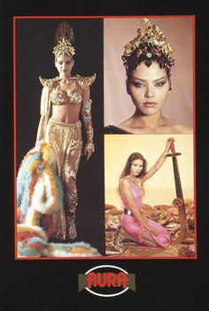 More love for Princess Aura from Flash Gordon, the inspiration for Lucia's galatic space slut outfit. ;)