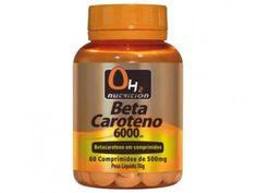 Betacaroteno 6000 Ui 60 Comprimidos - OH2 Nutrition com as melhores condições você encontra no Magazine Pedrosabino0512. Confira!
