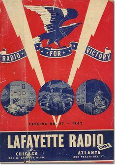 picture of 1942 Lafayette Radio catalog cover