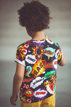 COMICS tshirt -> oopswear.com #tshirt #comics #kids #fashion #boy #boom #bang #oops