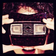 An awesome Virtual Reality pic! Y con mi #viewmaster vuelvo al pasado! #view #vintage #look #fun #cool #igdaily #igers #instagood #instalike #instamood #instamoment #igreus #igersreus #igerscatalunya #igerssuisse #happy #woman #cute #curls #switzerland #basel #fall #love #virtualreality #picoftheday #photooftheday by ourcellardoor check us out: http://bit.ly/1KyLetq