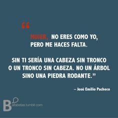 Prehistoria - José Emilio Pacheco  #ElAmorEs
