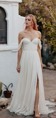Wedding dress idea; Featured Dress: Sarah Seven