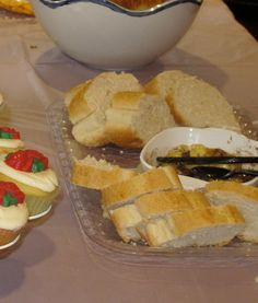 Baked Brie and French Bread by vanderbiltwife, via Flickr