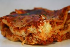 "So speedy..so fast. When there's not time....""Speedy Lasagna Recipe""  It's awesome!"