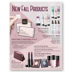 Oh my goodness, look at this GORGEOUS line of autumn products!! Be on trend and the first to get these beauties, pre-order yours today. I will be placing my order this Thursday 8/10, the first day this line debuts. Let me know what products you'd love to have so you can be an autumn diva. http://www.marykay.com/kathleendenson