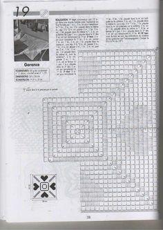 Szydełkomania: Serwetka kwadratowa