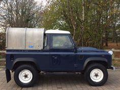 Land Rover DEFENDER 90 2.4 TDi Pick-Up 2dr