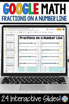 Third Grade Math Games, 3rd Grade Fractions, Teaching Fractions, 4th Grade Math, Teaching Math, Teaching Ideas, Google Classroom, Math Classroom, Math Math