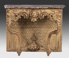 Console Regency period - the south of France, Avignon (comtat) ca. 1720