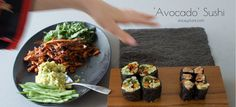 Healthy sushi | Brown rice sushi | Homemade sushi