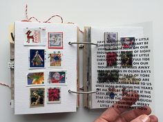 I finished my December album a couple of weeks ago but wanted to save it to  share here rather than on the old blog. You can read more about how I made  the wood cover + got everything ready in mypreparation post here.Also, I  shared my first six pages in the Studio Calico 25 Days class in December,  so those are missing from this post.  I'm experimenting with this gallery option, so you can see severalpages at  one time. Kinda great for such a big project where you would otherwise…
