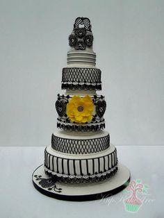 fashion inspired cake by KupKake Tree, via Flickr