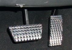 Jeep Accessory - RealWheels Jeep Wrangler Billet Aluminum Pedal Set - JK Like to get these as sometimes my boots slip off.