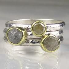 i LOVE stacked rings and these are just perfect!!!!