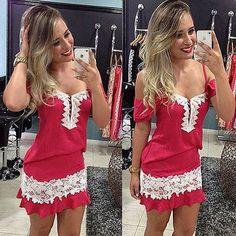 🔎 Ache fácil na busca do site: vestido vermelho com renda 💰 129,90 🖥 Compre pelo site: www.exclusivestoreimportados.com.br ⠀ ▫️FRETE GRÁTIS para todo o Brasil com código de rastreio ⠀ ▫️Pagamento: Cartão de crédito até 12x / Boleto bancário / Depósito bancário com 5% de desconto ⠀ ▫️Produto importado sob encomenda (prazo 20-60 dias) ⠀ ▫️Dúvidas/Informações/Contato: 📲 Direct ou 💌 exclusivestoresac@gmail.com