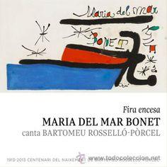 MARIA DEL MAR BONET. FIRA ENCESA. CD / PICAP - 2013. 10 TEMAS. PRECINTADO.