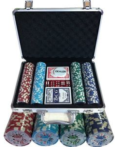 Maletín 200 fichas poker 11,5gr ABS Royal Straight - PokerProductos.com Decorative Boxes, Poker Chips, Letters, Store