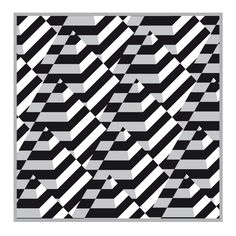 op art | op-art-black-and-white-pyramids- Follow us on FB or on the web @ eyecarefortcollins.com