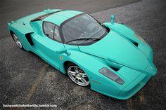 Turquoise Ferrari
