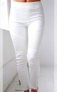 Need You Now White Moto Jeggings Деним Джинсы, Джеггинсы, Мода Для Людей С  Формами bd4a0eac43d