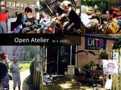 Open Atelier bij www.dits-styling.nl in Lith (Oss) tijdens de open zondagen van www.Maasmeanders.nl