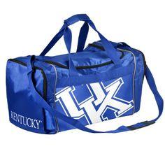 20ccd53c66 Amazon.com   Forever Collectibles NCAA Kentucky Wildcats Core Duffle Bag    Sports Fan Duffel Bags   Sports   Outdoors