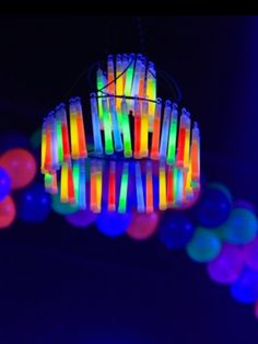 Great neon party idea