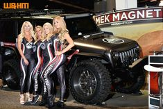 SEMA Show! Support and see us at SEMA - Central Hall Booth 22560 - Nov 2-5, 2021 - Las Vegas!!! W&HM coverage of 2018 SMA models source: www.wheelsandheelsmag.com #mekmagnet #removabletrailarmor #loveyourjeep #scratchthepinstripes #jeep #jeeplife #jeepsofinstagram #4x4 #jeepbeef #semashow #semalaunchpad #liftedjeep #adventure #instagood #jeeparmor #jeepaccessories #becauseyouloveyourjeep Monster Trucks, Central Hall, 2017 Jeep Wrangler, Flex Friday, Jeep Accessories, Body Armor, Jeep Life, Jeeps, 4x4